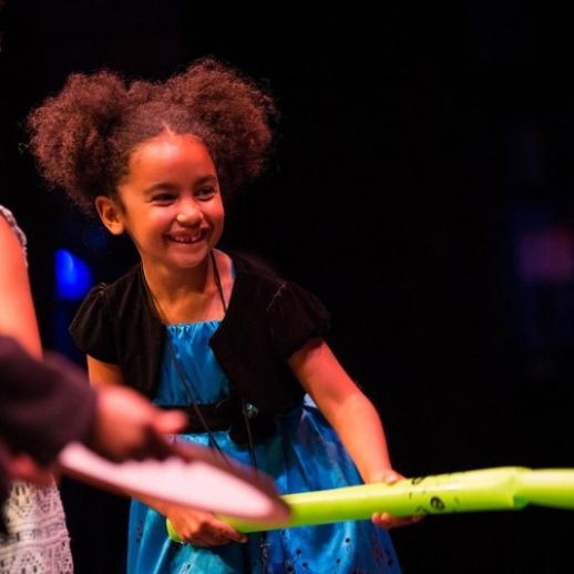 Girl Dancing at Performing Arts